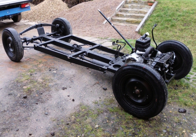 Fahrgestell DKW F5