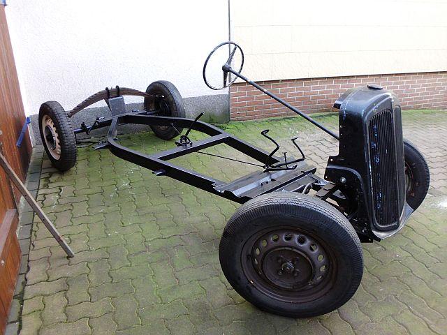 Fahrgestell DKW F8