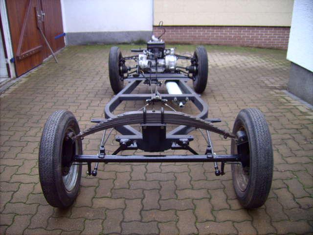 Fahrgestell IFA F8