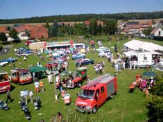 Bilder Oldtimertreffen in Gerterode im August 2009 Teil 1