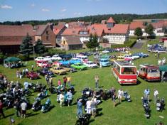 Bilder Oldtimertreffen in Gerterode im August 2009 Teil 2