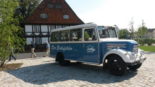 Der Eichsfelder Bus in Einbeck